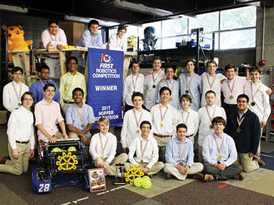 Robotics Wins Regional; Finishes Third at World Championships
